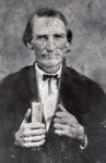 Rev. Wiley M. Miles, Methodist Minister, Founder of Mt. Vernon Methodist Church, Fayette Co., Alabama