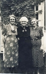 Mary Elizabeth Miles, Mary Lee McLaughlin Miles, Opal Nunneley Wilder - photo taken in circa 1930
