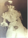 Lou Miles Casey, daughter of Lewis Bobo Miles and second wife Maggie Nolen Miles