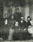 Lewis B miles and family-front is Louise (Sister Lou)from left is Ray Francis Mlies, my grandfather, Margaret (Maggie)No