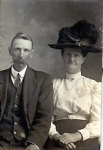 James B. Woodruff (1860-1929)- great grandson of Rosanna Waters Farrow & Caleb Woodruff. Rosanna is the daughter of